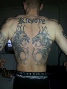 Lasse tatoo ryg