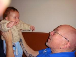 Morfar og Tristan